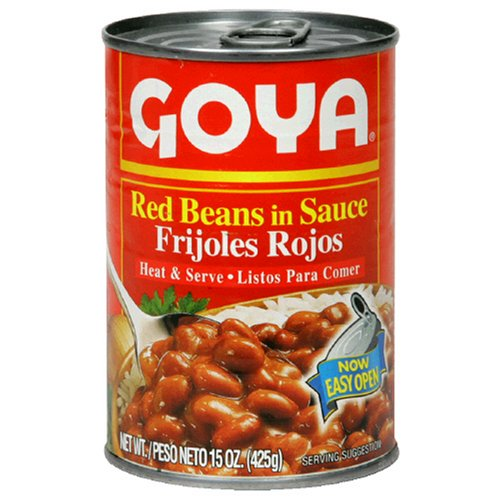 Goya Red Beans In Sauce, 15-Ounce Units (Pack of 6)
