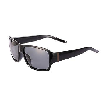 HONEY Lässige Herren-Sonnenbrille - Polarisierte Fahrbrille - Voller UV400-Schutz - Schwarz gefrosteter Rahmen 69k4pDyZ