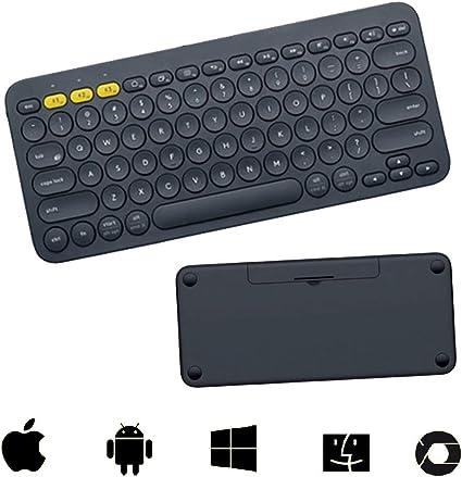 ZGYQGOO Teclado Bluetooth multidispositivo: Compatible con ...