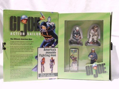 G.I. Joe Action Sailor 3 Piece W. Britain Pewter Replicas Shore Patrol, Action Sailor, Deep Sea Diver (2000) by ERTL