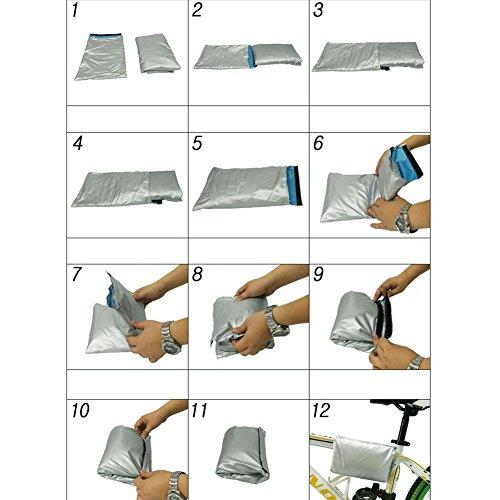 Fahrradabdeckung -190T Nylon wasserdichte Fahrradabdeckungen Anti Staub Regen UV Schutz Aufbewahrungsbeutel für Verschiedenes Fahrrad