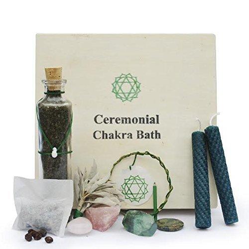 Heart Chakra Ceremonial Bath by Gemstone Organic