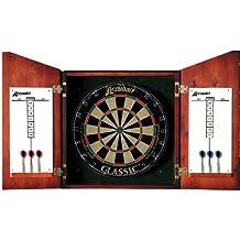 Accudart D4123 Union Jack Dartboard Cabinet