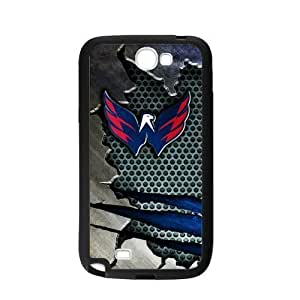 Custom Unique Design NHL Washington Capitals Samsung Galaxy Note 2 Silicone Case WANGJING JINDA