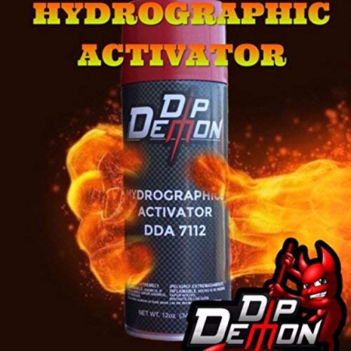 Hydrographic Film - DIP Demon Super Sized 16 Oz Aerosol Spray Can Hydro Graphic Water Transfer Activator Hydro Dip Dipping