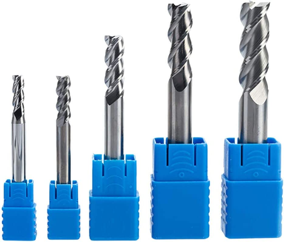 Drill Bit Sets 1PC 3 Flutes Solid Carbide End Mill for Aluminum CNC Milling Cutter HRC45 Tungsten Steel Router bits CNC machine-4649 4650