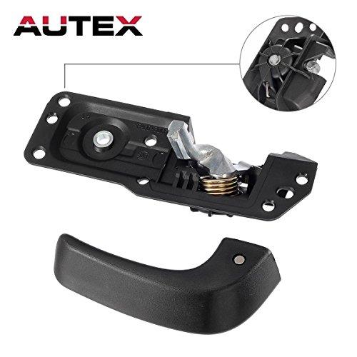 AUTEX 91485 Replacement Interior Door Handle Kit Left/Driver-Side for 07-13 Chevrolet Silverado 1500/2500HD