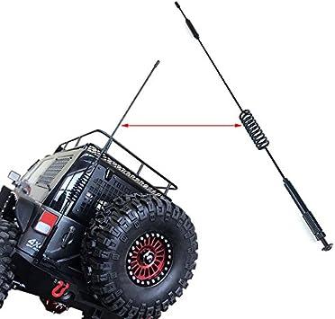 INJORA RC Antenna RC Decoración RC Accesorios para 1:10 RC Crawler Axial SCX10 90046 Traxxas TRX-4 TRX4 D90 D110 Tamiya CC01