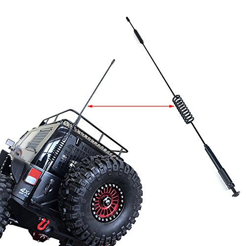 Metal Decorative Antenna for 1:10 RC Crawler Axial SCX10 90046 Traxxas TRX-4 TRX4 RC4WD D90 D110 Tamiya CC01