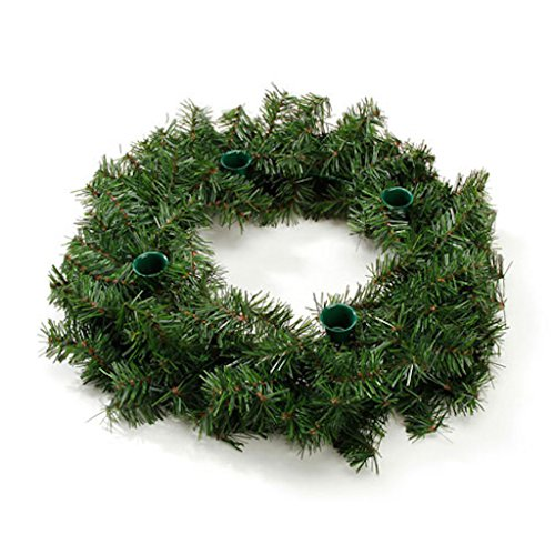 Advent Wreath - 160 Tips - 18 inches (1 pack)