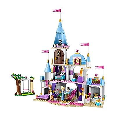 LEGO Disney Princess 41055 Cinderellas Romantic Castle: Toys & Games