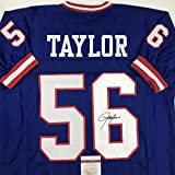 Autographed/Signed Lawrence Taylor New York Blue