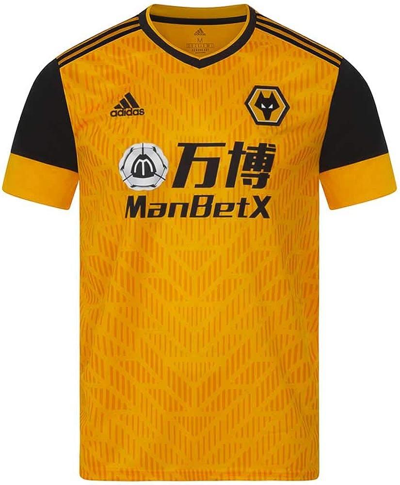 adidas Wolves FC Men's Home Football Shirt Soccer Jersey 2020-20201 XL