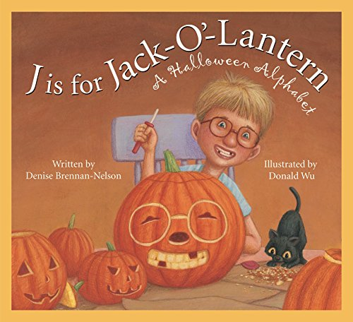 J is for Jack-O'-Lantern: A Halloween Alphabet (Holiday) ()