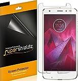 Supershieldz (6 Pack) for Motorola (Moto Z2 Force Edition) and Moto Z Force Edition (2nd Gen) Screen Protector, High…