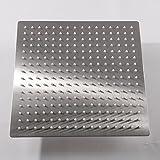 KiaRog® 12 Inch (12'') Rain Brushed Shower Head. 12-Inch...