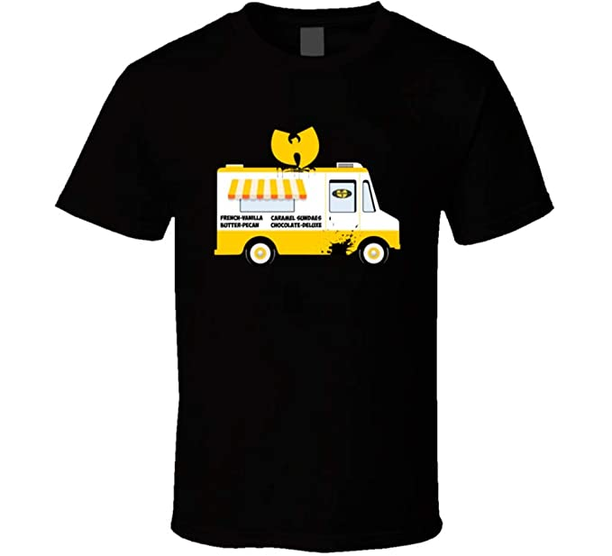 Amazon Com Wu Tang Ice Cream Truck French Vanilla Rap Group Logo T
