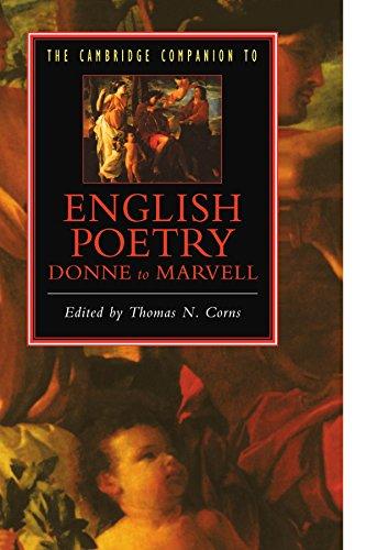 The Cambridge Companion to English Poetry, Donne to Marvell (Cambridge Companions to Literature)