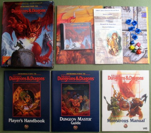 Introduction to Advanced Dungeons & Dragons Game (Ad&d Audio) by Advanced Dungeons & Dragons 2nd Edition - Box Sets