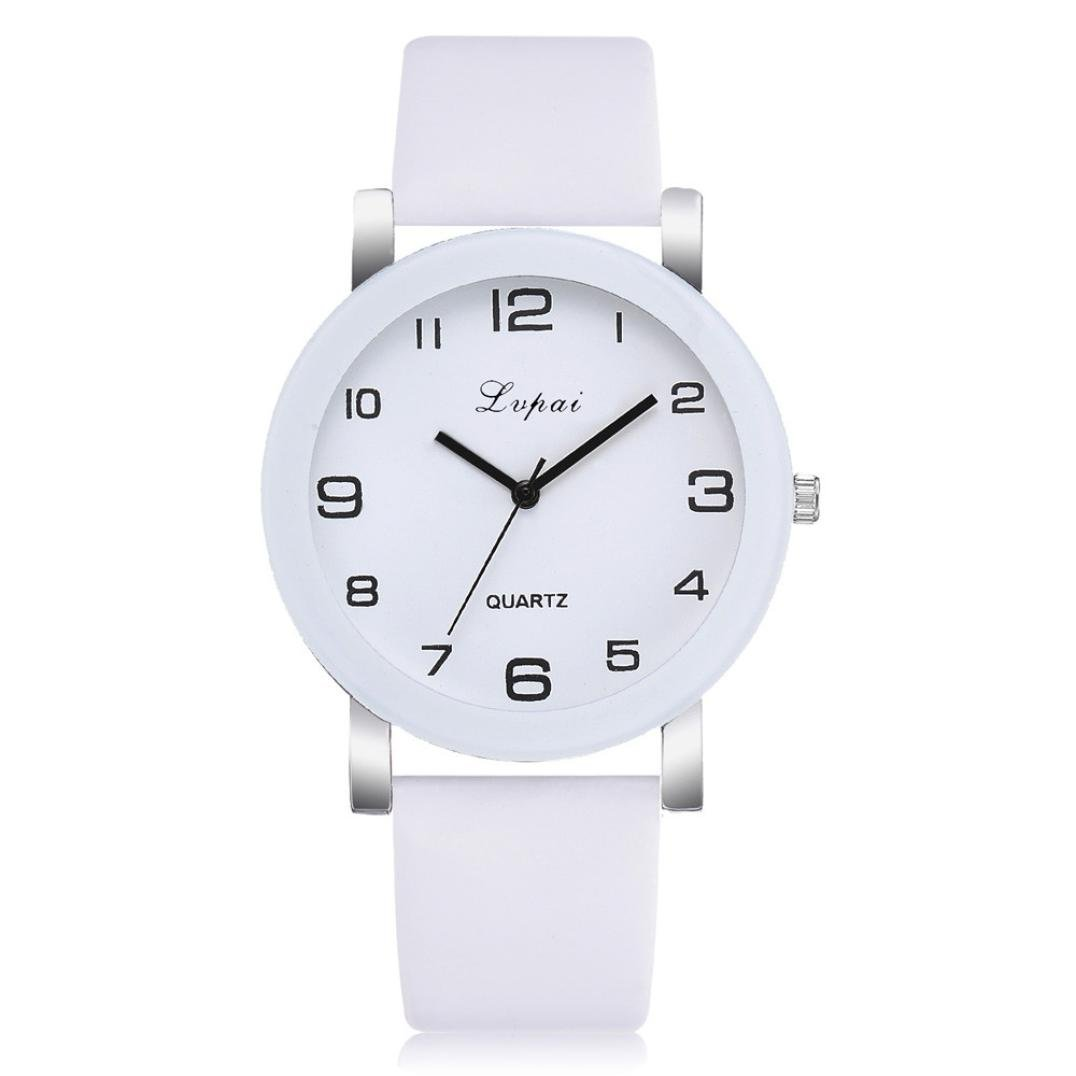 Amazon.com: Girls watches for school Casual Quartz Leather Band Watch Analog Wrist Watch fashion design,GINELO (White): Cell Phones & Accessories