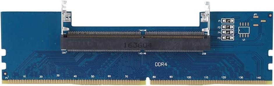 Zopsc Professional 2133Mhz 260 to 288 DDR4 Memory RAM Converter SO-DIMM Laptop DIMM Memory Card Riser Card 4-Layers Desktop Memory RAM Adapter, Blue