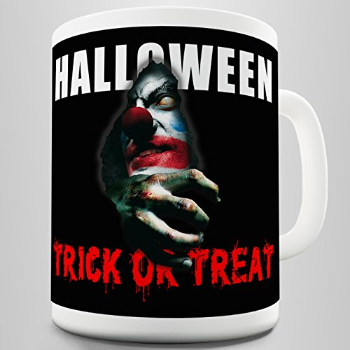 Twisted Envy Trick Or Treat Halloween Ceramic Funny Mug ()