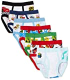 Disney Little Boys Pixar 7 Pack Brief, Multi, 2T/3T