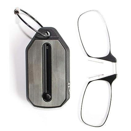 QJSY - Clip de nariz para gafas de lectura (grado + 1.00D a ...
