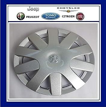 "PSA New Genuine Peugeot 107 2005-2016 14"" Wheel Trim/Hub Cap X1"