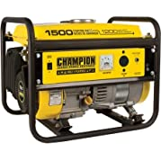 Champion Power Equipment Model 42436, 1200/1500 Watt Portable Gas-Powered Generator CARB