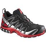 Salomon Mens XA Pro 3D GTX Trail Sneaker,Black/Barbados Cherry/White, 9 D(M) US