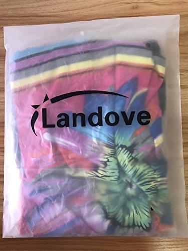 03 Bandeau Robe Bohme de Ete Robe Plage Landove Color Bretelles sans Dos de Nu Style Ethnique Chic awqpvCtxn