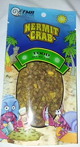 FMR Hermit Crab Food Pouch 2 Ounce By Florida Marine Research ()