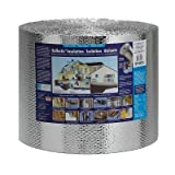 Reflectix 16 in. x 100 ft. Double Reflective Insulation with Staple Tab