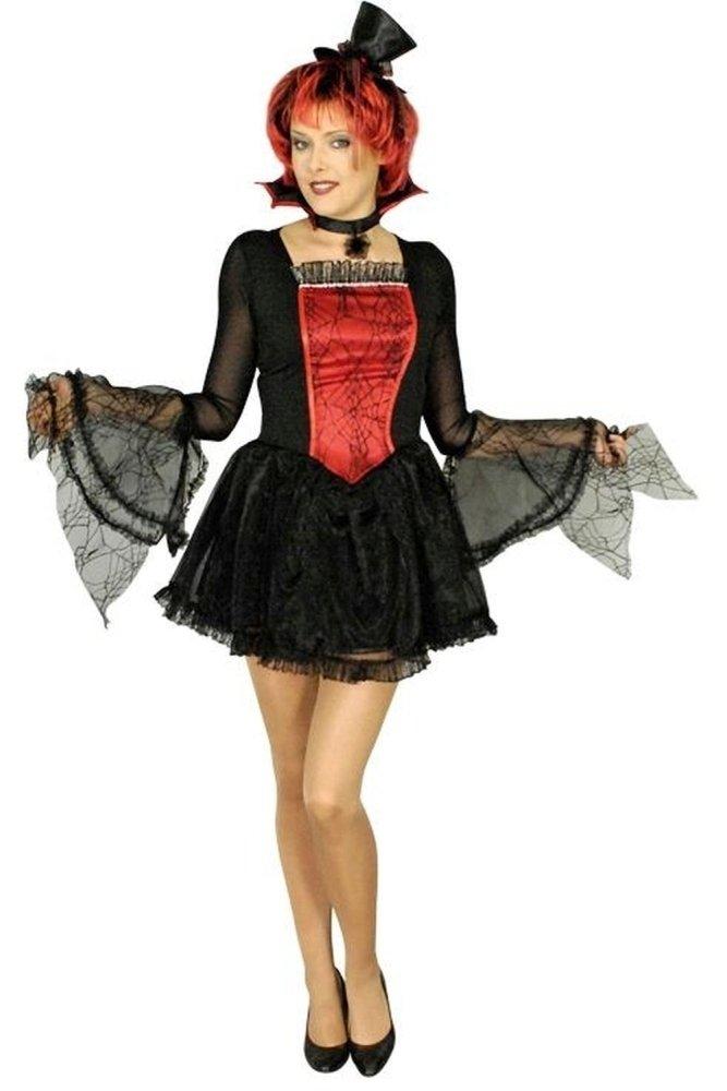 Das Kostümland Disfraz de Aroha vampiro bruja para mujer (48/50 ...