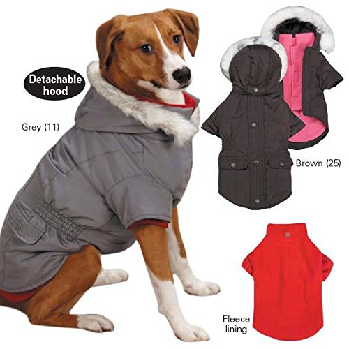 Meds Collection (Small/Med Brown East Side Collection 3-in-1 Eskimo Dog Jackets)