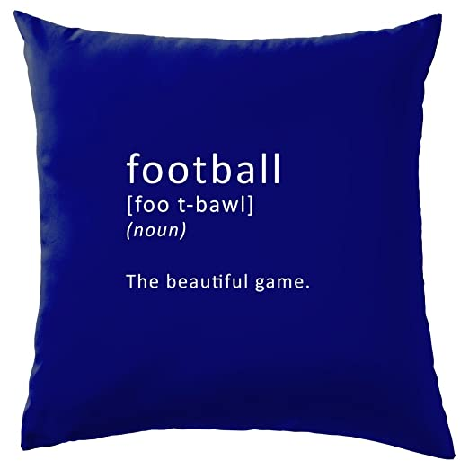 Funny definición fútbol - cojín 41 x 41 cm (16