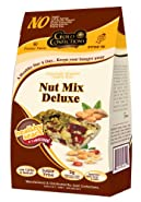 Gold Confections Nut Mix Deluxe Healthy Snack Bites, 4.5 Ounce (Pack of 3)