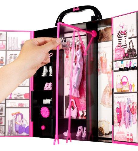 Amazon.es: Barbie - El armario de Barbie, muñeca y accesorios ...