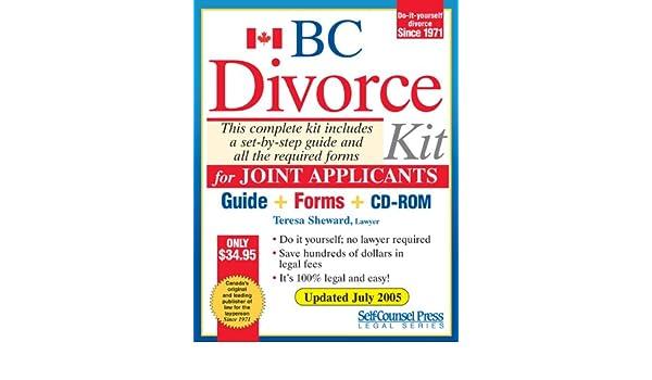 Divorce kit for bc joint teresa sheward 9781551806310 books divorce kit for bc joint teresa sheward 9781551806310 books amazon solutioingenieria Gallery