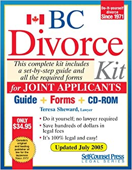 Divorce kit for bc joint teresa sheward 9781551806310 books divorce kit for bc joint teresa sheward 9781551806310 books amazon solutioingenieria Choice Image