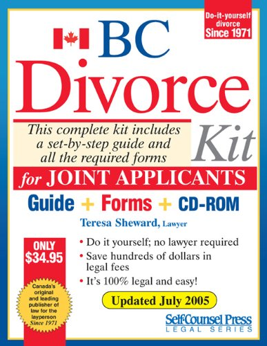 Divorce kit for bc joint teresa sheward 9781551806310 books divorce kit for bc joint teresa sheward 9781551806310 books amazon solutioingenieria Gallery