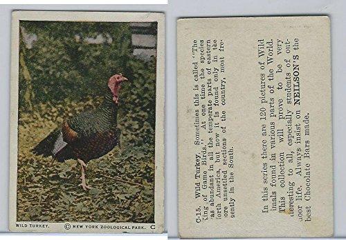 V67 Neilson's Chocolate, Wild Animals, 1930's, C15 Wild Turkey