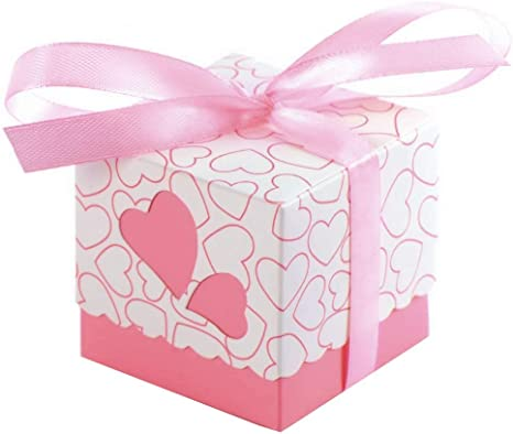 Butterfly Wedding Favours Favor Boxes Love Heart Sweet Candy Boxes