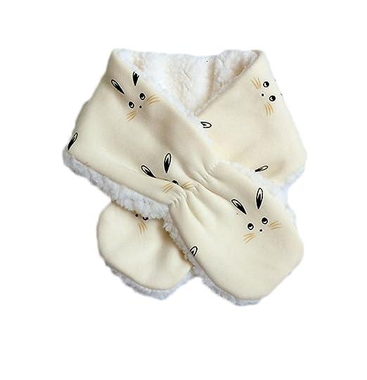 Gespout 1pcs Kawaii Bufandas Cuello puede Desmontar Otoño Invierno Niños Niñas Bebé Pañuelos de Algodón Interior