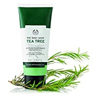 The Body Shop KBH1801 Tea Tree Squeaky-Clean Exfoliating Face Scrub, 3.3 Fl Oz (Vegan)