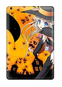 High Impact Dirt/shock Proof Case Cover For Ipad Mini/mini 2 (anime Girl 177)