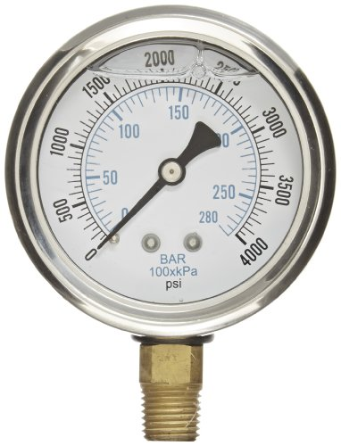 4000 psi pressure gauge - 4