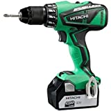 Hitachi DV18DBEL Brushless Perceuse-visseuse à percussion avec 2 batteries 18 V 4 Ah