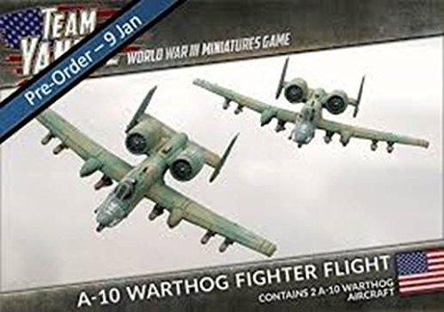 Flames of War Team Yankee US A-10 Warthog Fighter Flight (TUBX06, 2 figures) by Flames of War
